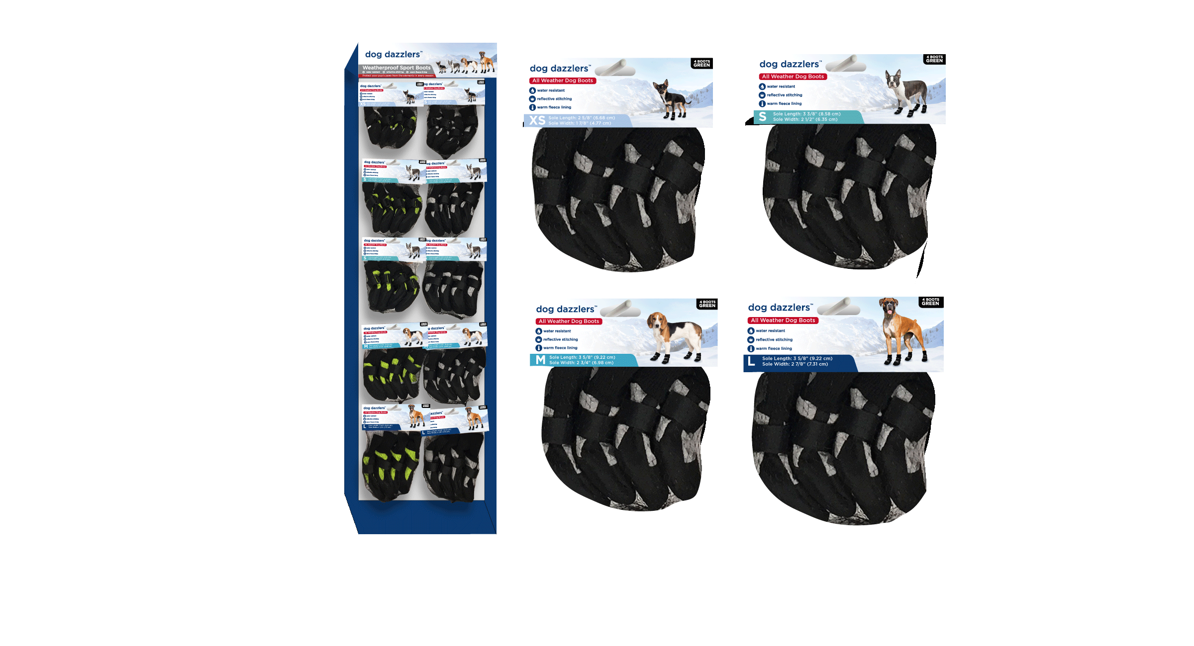 Dog Dazzler's Packaging